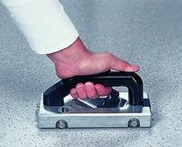 (20pcs U Type Blades) Wheeled Groover for vinyl floor welding Grooving Slotting Pull Hand Tool Slotter PVC Vinyl Floor Welding