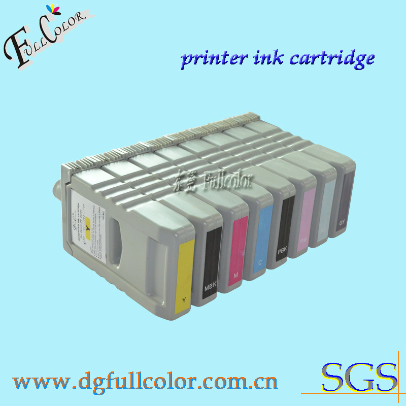 Free shipping compatible ink cartridge for canon IPF8000S IPF9000S PFI-701 ink tank with pigment ink and chip 8color color ink jet cartridge for canon printers 821 820 series