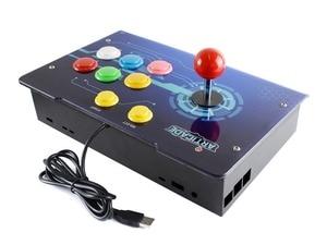 Image 3 - Waveshare boîtier de commande darcade USB Arcade D 1P, pour Raspberry Pi/PC/Notebook/OTG téléphone Android/tablette/Smart TV 1 joueur