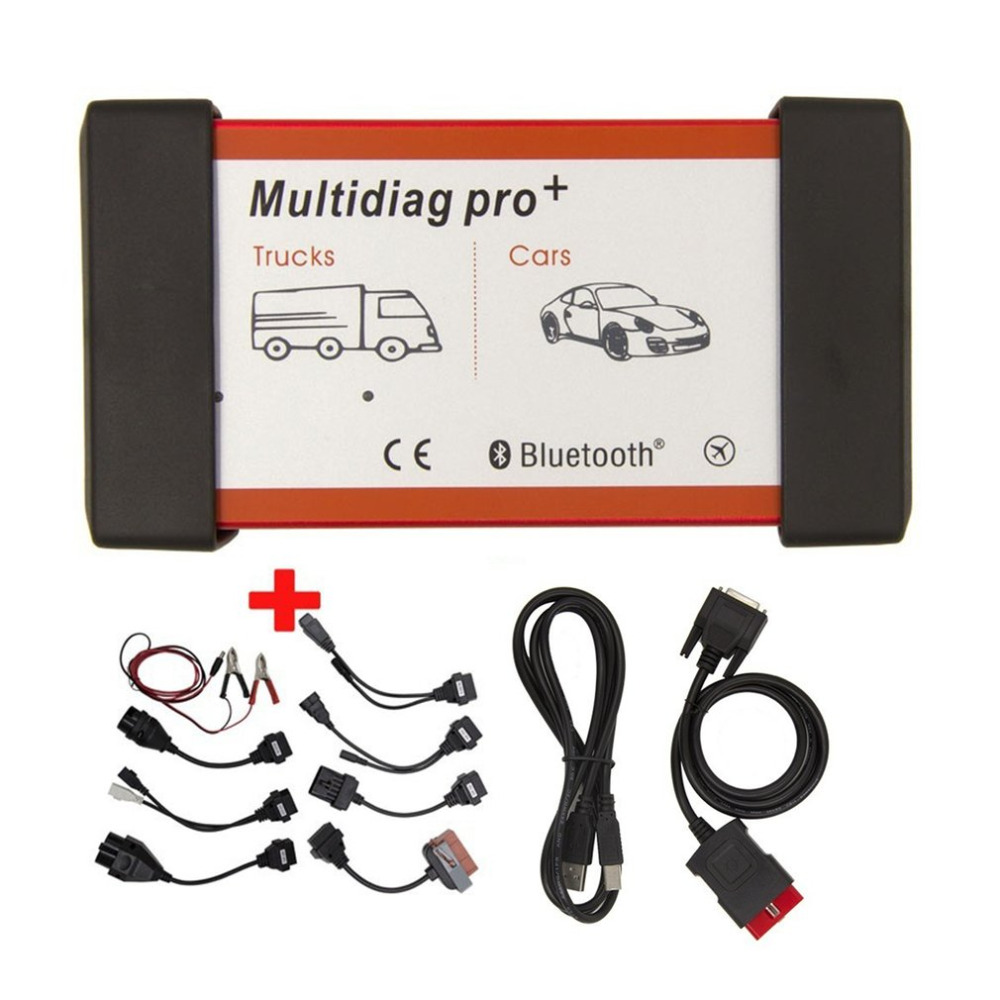CDP TCS PRO Multidiag Pro+ Bluetooth Scanner 2015 R3 Keygen Diagnostic Tool with 8pcs Extension Cables for Cars Trucks new arrival new vci cdp with best chip pcb board 3 0 version vd tcs cdp pro plus bluetooth for obd2 obdii cars and trucks