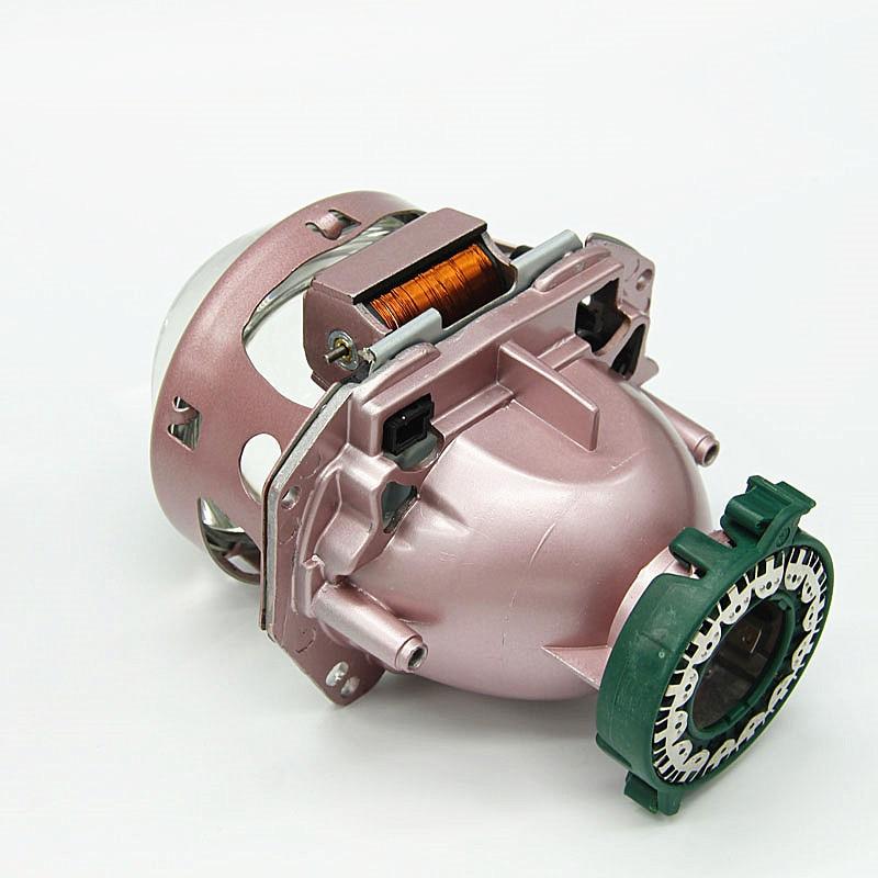 Auto styling 3,0 zoll LHD champagner bi xenon D1S D2S D3S D4S hid xenon objektiv für scheinwerfer - 5