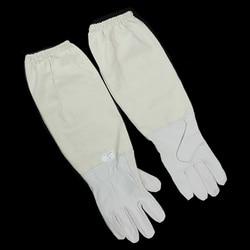 1 Pair Beekeeper Gloves Beekeeping Protective  Long Sleeves Gloves Beekeeper Anti-bee Suit Bees and Beekeeping Equipments