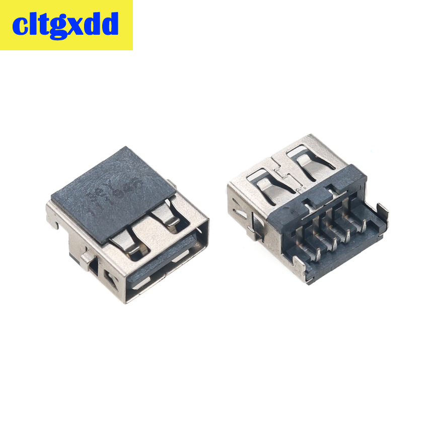 Cltgxdd 2-10pcs For Lenovo G570A G570AH E320 Samsung 3 HP G4-1000 G6 G7 -1000 G62 Laptop USB Jack Socket Port Connector