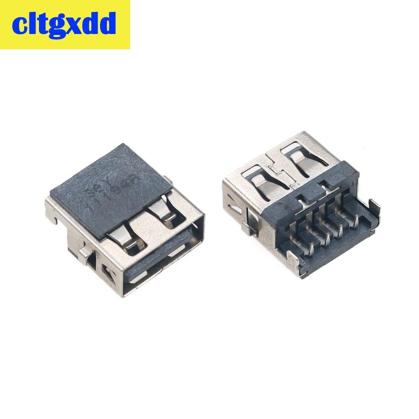Cltgxdd 2-10pcs For Lenovo G570A G570AH E320 Samsung 3 HP G4-1000 G6 G7 -1000 G62 Laptop USB Jack Socket Port Connector