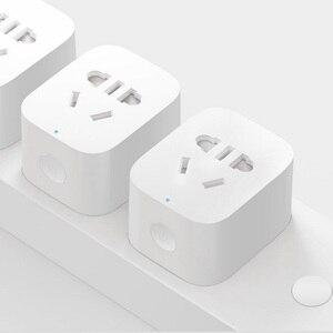 Image 2 - Nouveau Xiaomi Mijia prise intelligente 2th Bluetooth passerelle Version sans fil télécommande prises adaptateur alimentation marche et arrêt avec téléphone