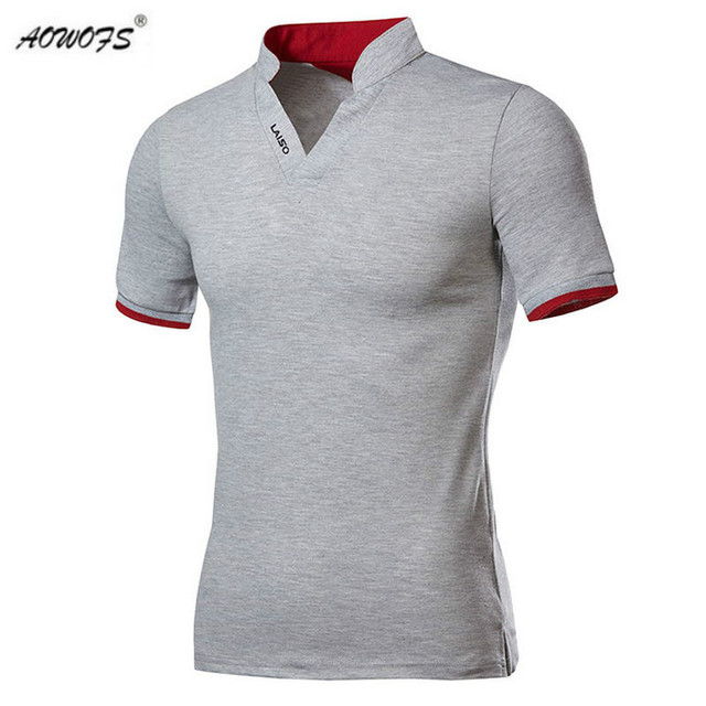 Hot Sale New Fashion Brand Men Polo shirt Solid Color Short-Sleeve Slim Fit  Shirt 7c370fa060419