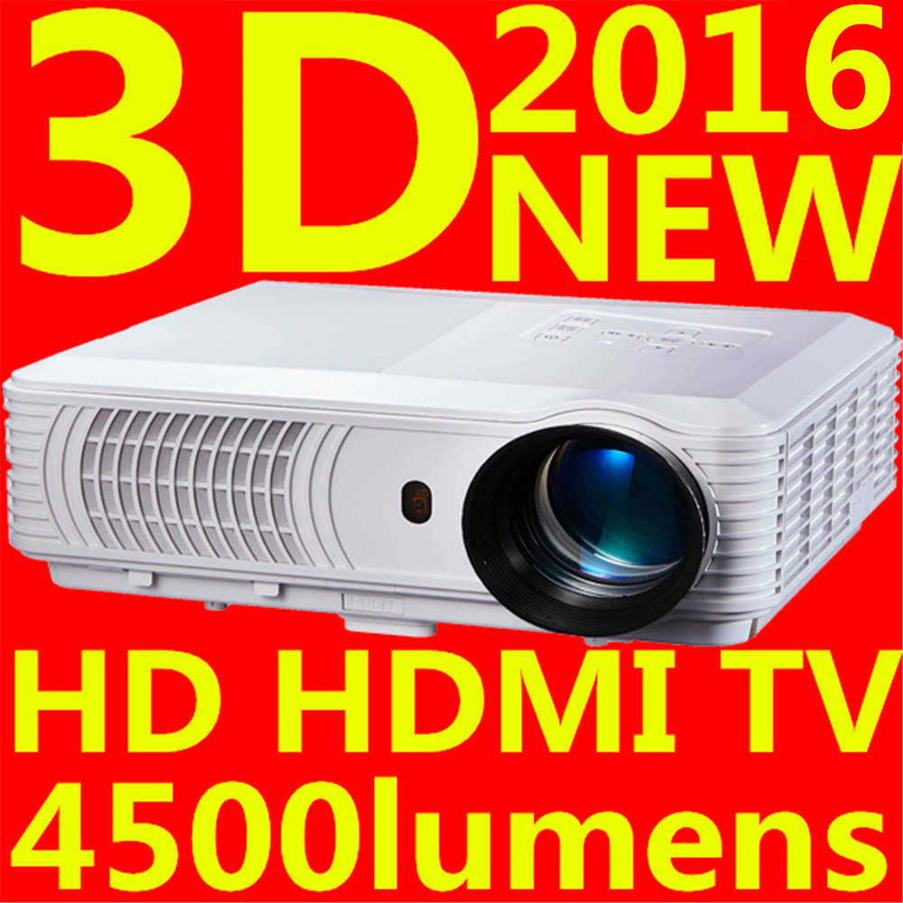 big discount newest 2016 led mini video lcd 1080p 3d tv home theater projector full hd proyector. Black Bedroom Furniture Sets. Home Design Ideas