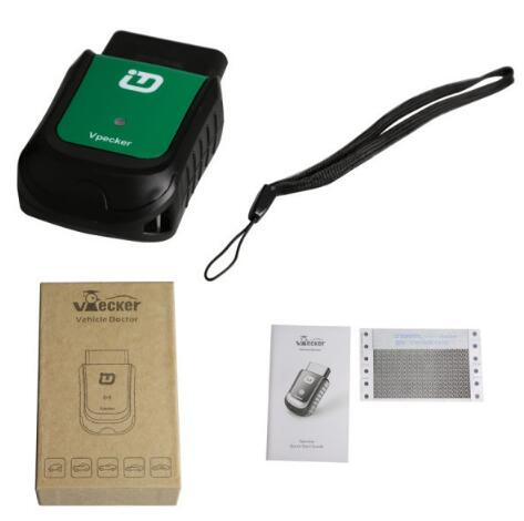 VPECKER Easydiag V8.2 Wireless OBDII Full Diagnostic Tool Works on Windows10 Better Than X431 Idiag