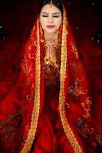 2015 new photography photo apparel India Sari bride costume dance red indian salwar suit/salwar kameez/saree sari dress costumes