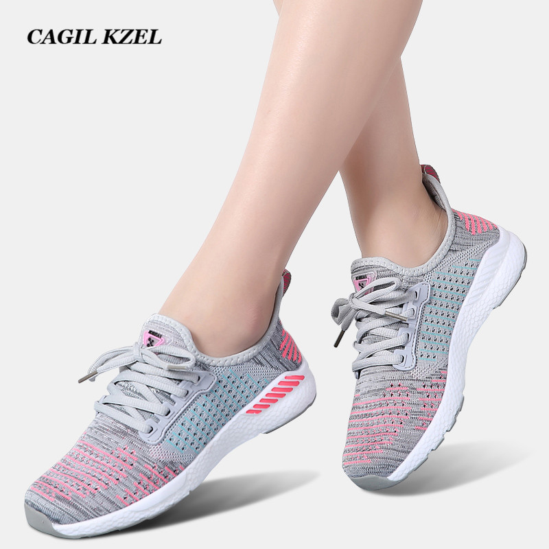 CAGILKZEL 2019 Spring Sneakers Ladies Footwear Breathable Lace-Up Informal Lover Footwear Girl Summer time Flats Footwear chaussure homme Aliexpress, Aliexpress.com, On-line buying, Automotive, Telephones & Equipment, Computer systems &...