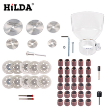 HILDA For 400W Wood Metal Engraving Electric Rotary Tool Accessory for Dremel Bit Set Grinding Cutting Cut Accessories