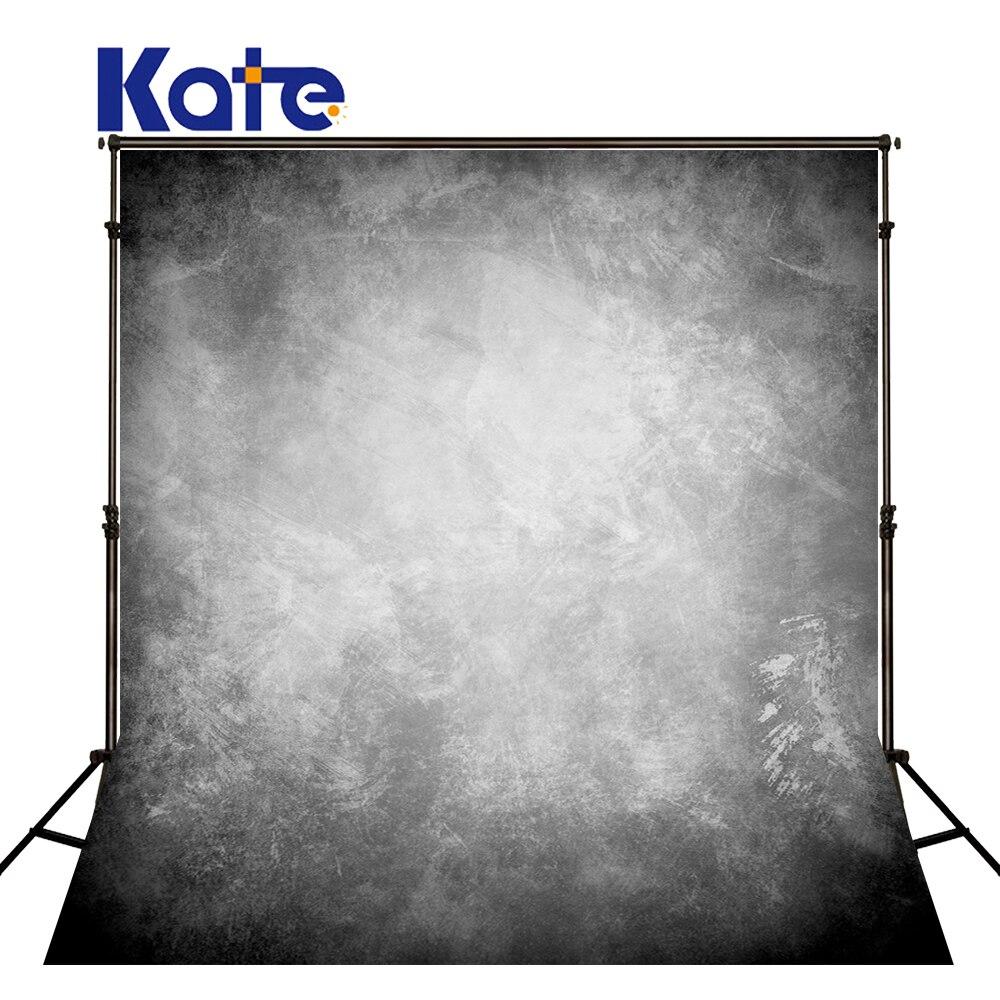 Kate 5X7ft Gris Pastel Décors Rétro Photographie Photo-toile de fond Coton Portrait Fotografia Fond pour Séance Photo de Famille