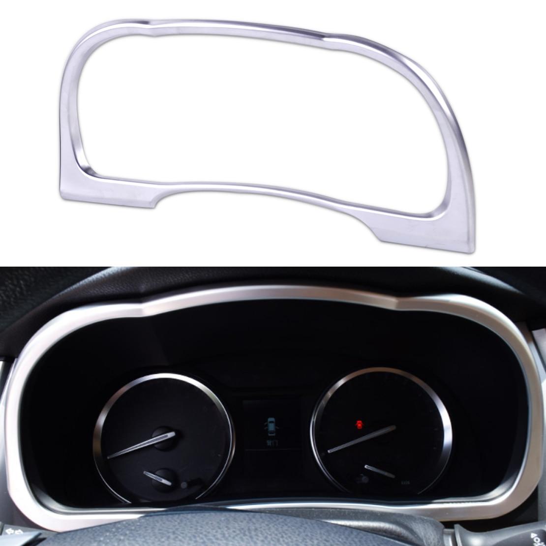 beler ABS Dashboard Frame Cover Trim Car Styling Instrument Panel Decorations For Toyota Highlander Kluger 2014 2015 2016 2017
