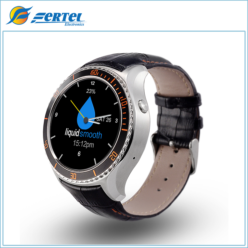 2016 I2 Smart Watch MTK6580 Android 5.1 OS Bluetooth Wristwatch With Wifi GPS 3G Smartwatch Phone Google Play Store APPS(Silver) adult smart watch phone for men 3g android watch with gps google play bluetooth men watch camera pk gt08 smart watch