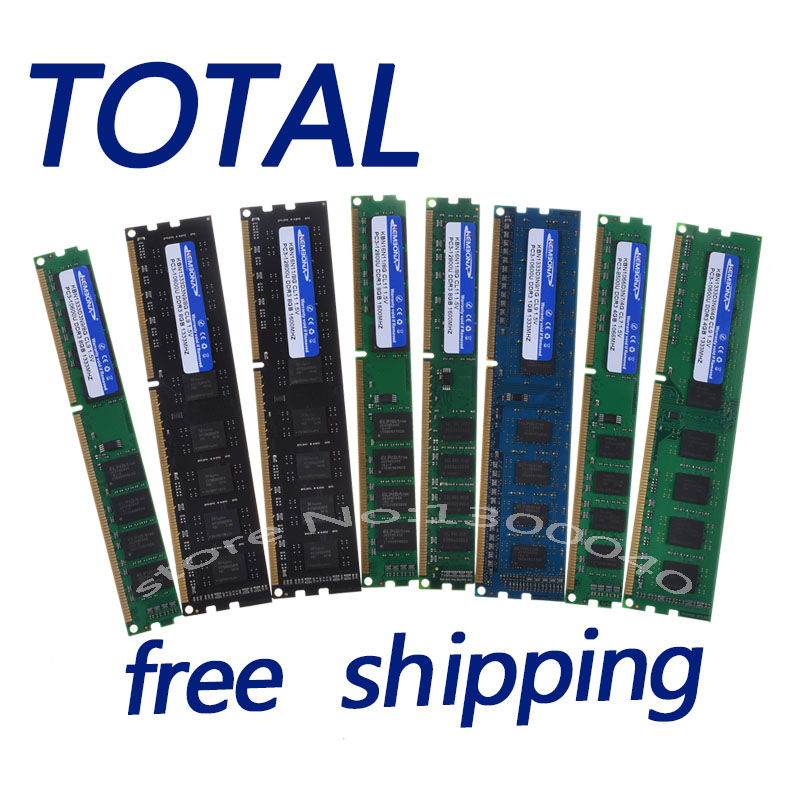 KEMBONA New Sealed DDR3 1600mhz/1333mhz/1066mhz / PC3 10600 8G/4GB/2GB Desktop RAM Memory / Lifetime warranty / Free Shipping