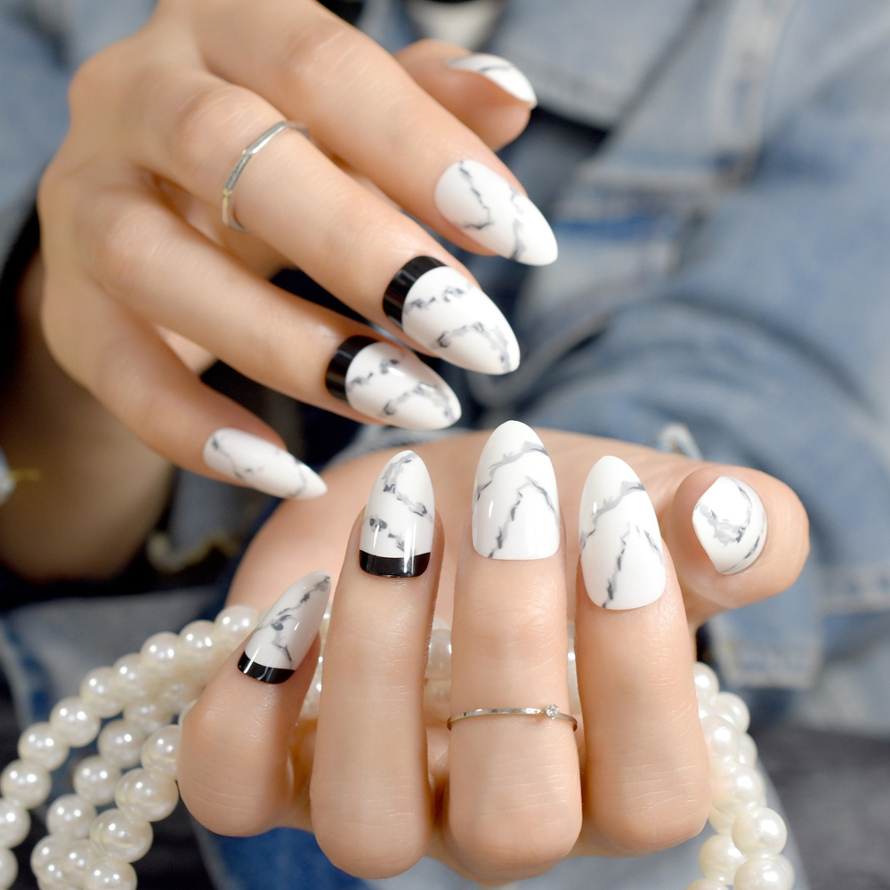 how to make nails shiny and white