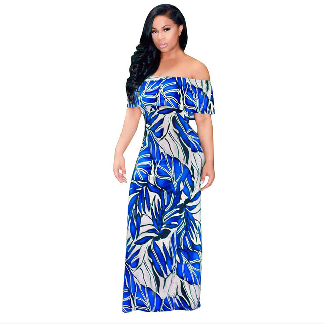 Maxi robe imprimee