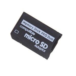 النفث دعم الذاكرة بطاقة محول مايكرو SD إلى ذاكرة محول ل PSP مايكرو SD 1 MB-128 GB ذاكرة عصا الموالية الثنائي