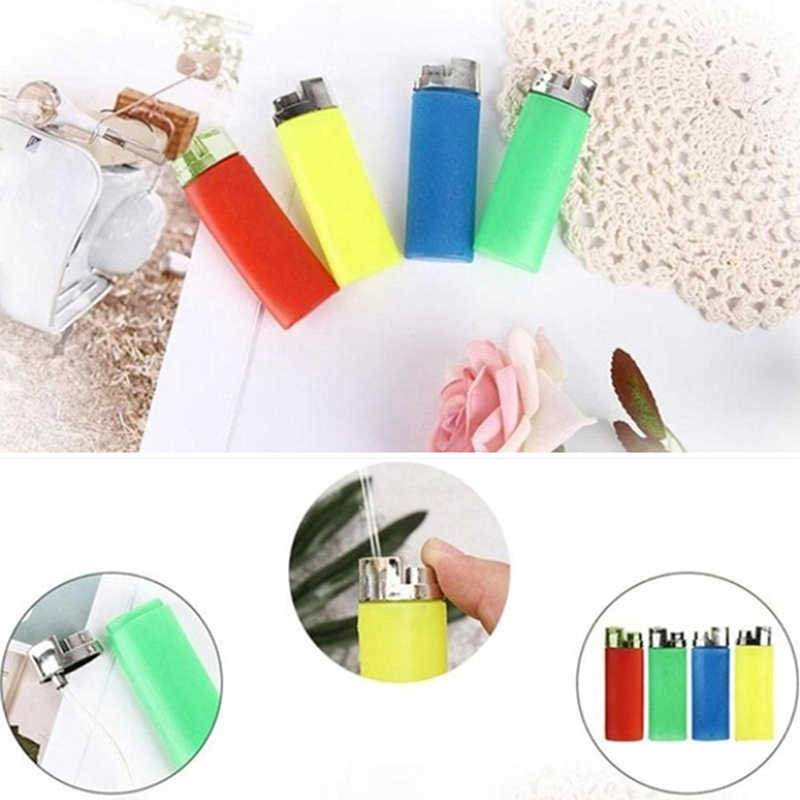 1Pc funny party trick gag gift water squirting lighter joke prank trick toy