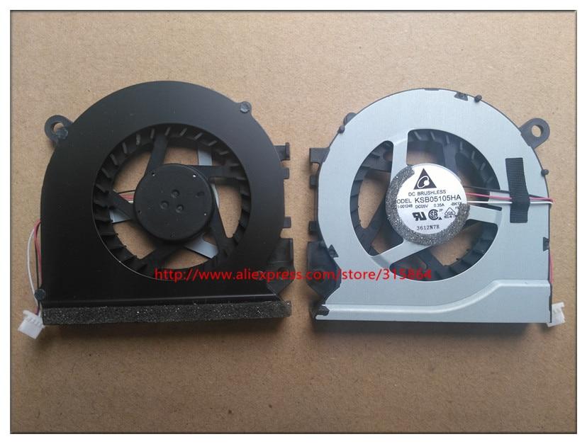 original new laptop cpu fan for samsung 530u4b 530U4C NP535U4B 535U4C 532U4C NP535U4C KSB05105HA