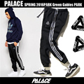London Streetwear Palace Skateboard Pants Men Women High Quality Cotton Triangle Striped Tracksuit Boy Palace Jogger Beam Pants