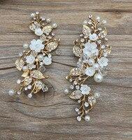 Baroque European Retro Bridal Crown Tiara Wedding Style Jewelry Alloy Rhinestone Crown