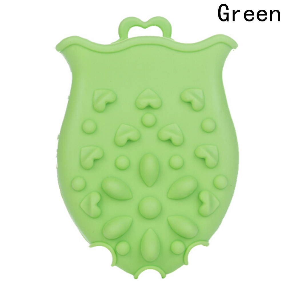 HOT Soft silicone baby bath brushes Infant newborn Shower faucet Bath Brushes Kids skin massage cleaning tools Rubbing Baby Gift