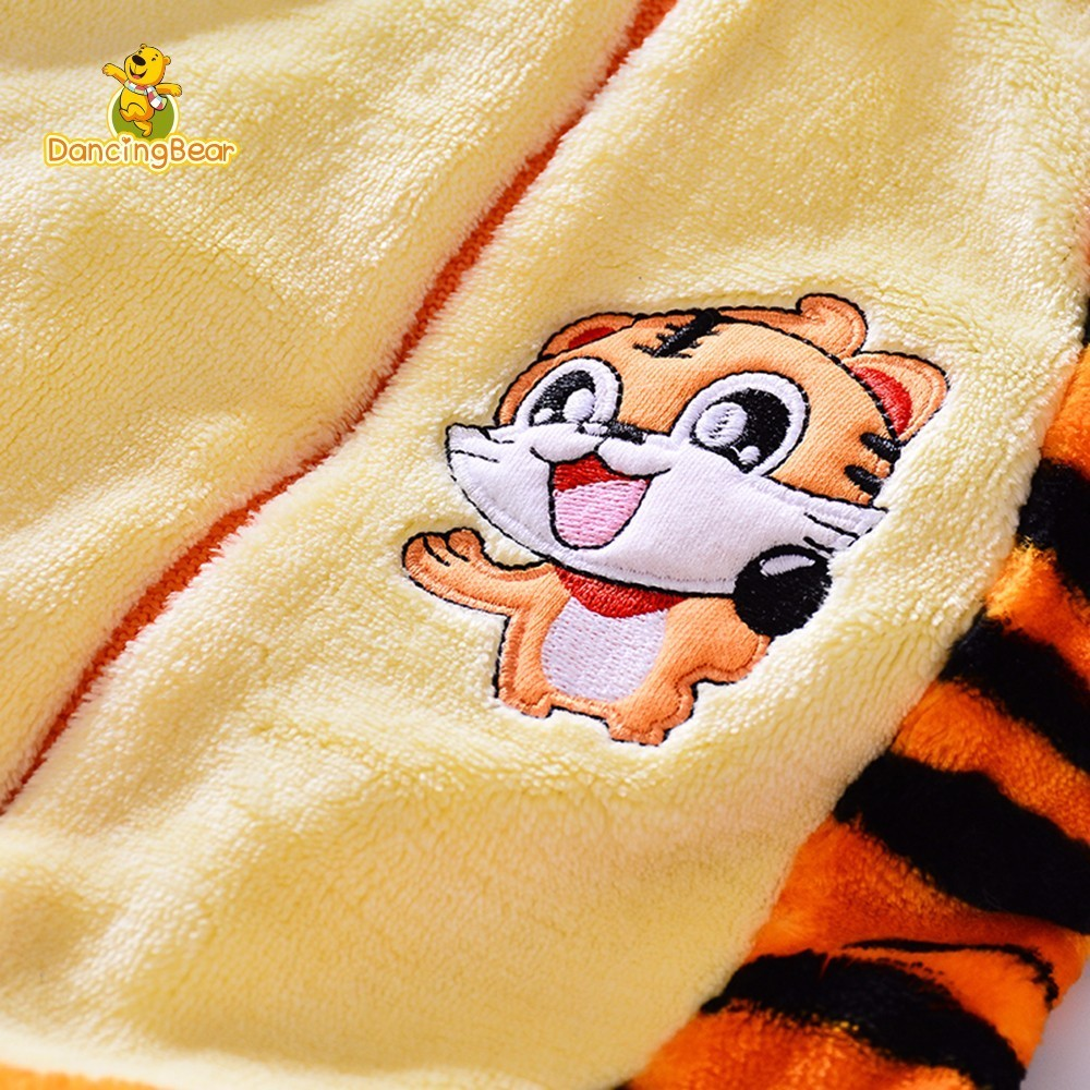 DancingBear Cute Baby Cartoon Animal Costume Boys Girls Tiger Jumpsuit Footies Halloween Kids Clothing Cosplay Character In From Mother On