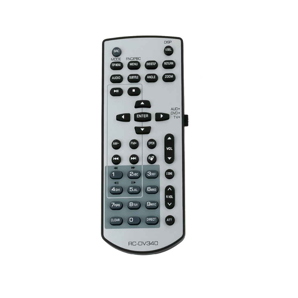 US $8.99  New RC DV340 Remote Control fit for KENWOOD DDX318 DDX470 on
