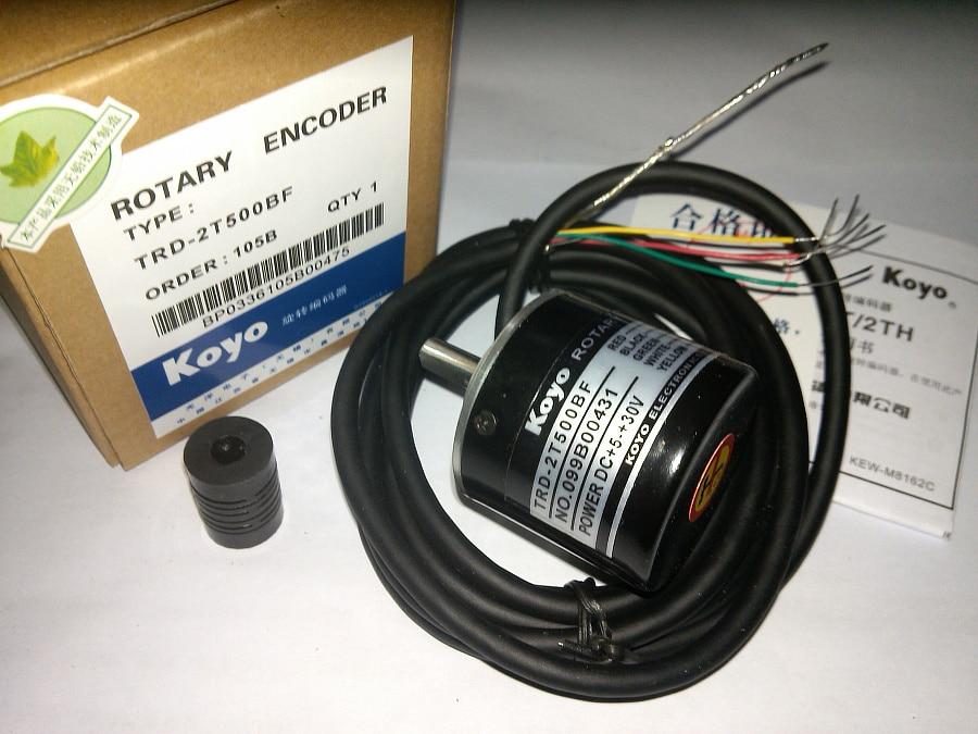 FREE SHIPPING encoder corp solid shaft rotary encoder trd-2t200bf