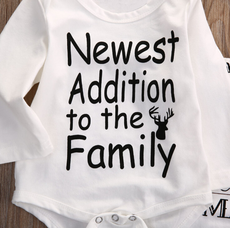 Newborn-Baby-boy-clothes-Newest-Addition-To-The-Family-letter-printed-Rompers-Pants-Hat-Outfit-Clothes (3)
