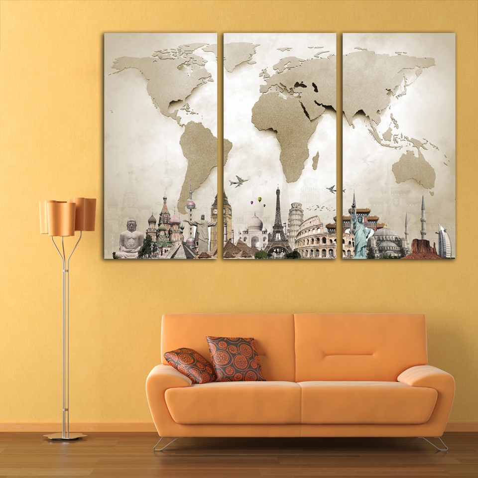 Famous 3 Piece Wall Decor Sketch - The Wall Art Decorations ...