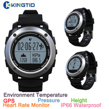 S928 Professional Sport Smart Watch GPS watch Outdoor Heart Rate Monitor Fitness Tracker Air Pressure Altimeter For IOS Android
