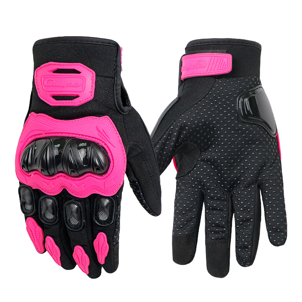 2019 Wearable Protective Riding Motorcycle Gloves Breathable Touch Operation Black Green Red Pink For Women Men Female Unisex