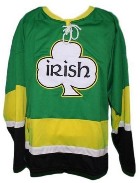 c323bfceb Retro Team Ireland Irish  Pittsburgh Shamrocks  Ireland Irish Pride Retro  Hockey Jersey Customize any number and name Jersey