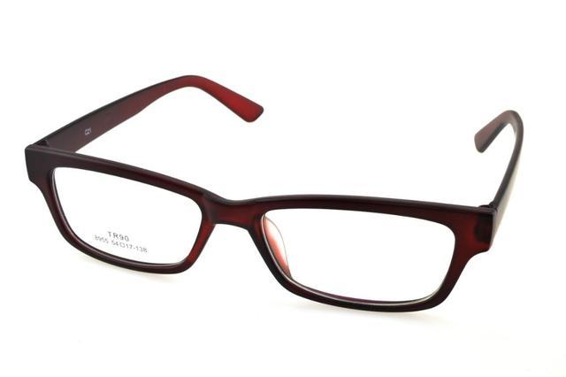 e35b8d9365 Por encargo bifocales multifocales progresivas lentes recetados gafas ver  cerca de lejos rojo oscuro gafas +