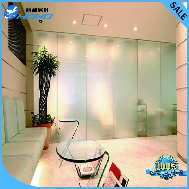 China Smart Pdlc Film Manufacture 100cmx100cm Switchable Window Tint Film/ Magic Glass Film for Building