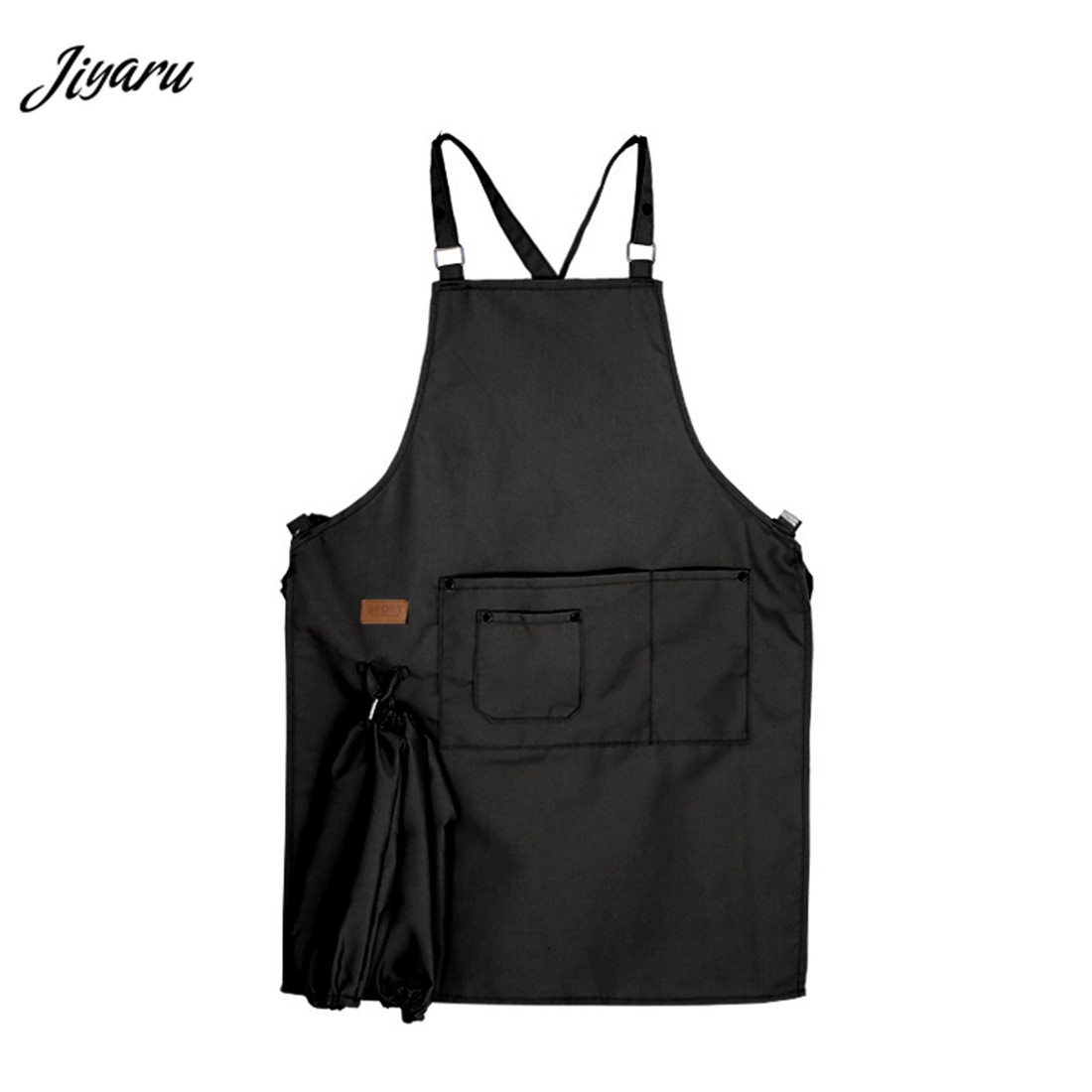2019 New Arrival Unisex Aprons Women Men Adjustable Kitchen Aprons for Cooking Baking Restaurant Cooking Sleeveless Aprons
