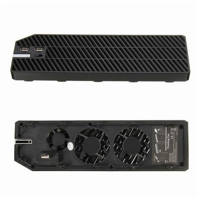 Alta calidad usb dispositivo de clip on intercooler ventilador de refrigeración refrigerador ventilador para microsoft xbox one con dual usb sefs035