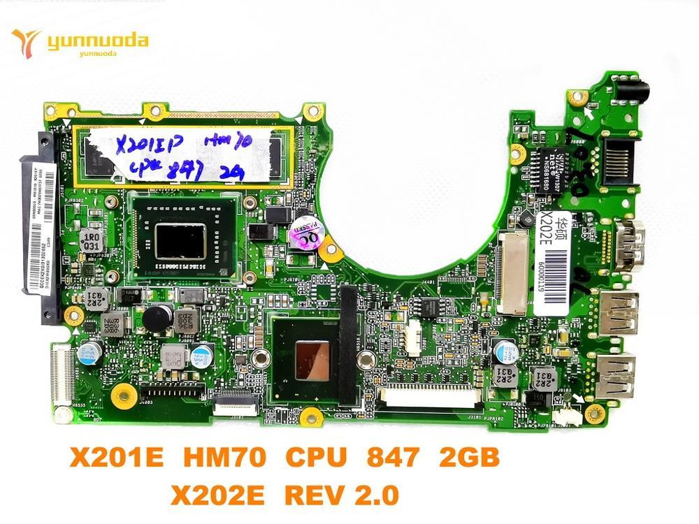 Original for ASUS X202E Laptop motherboard X201E  HM70  CPU  847  2GB  X202E  REV 2.0  tested good free shippingOriginal for ASUS X202E Laptop motherboard X201E  HM70  CPU  847  2GB  X202E  REV 2.0  tested good free shipping