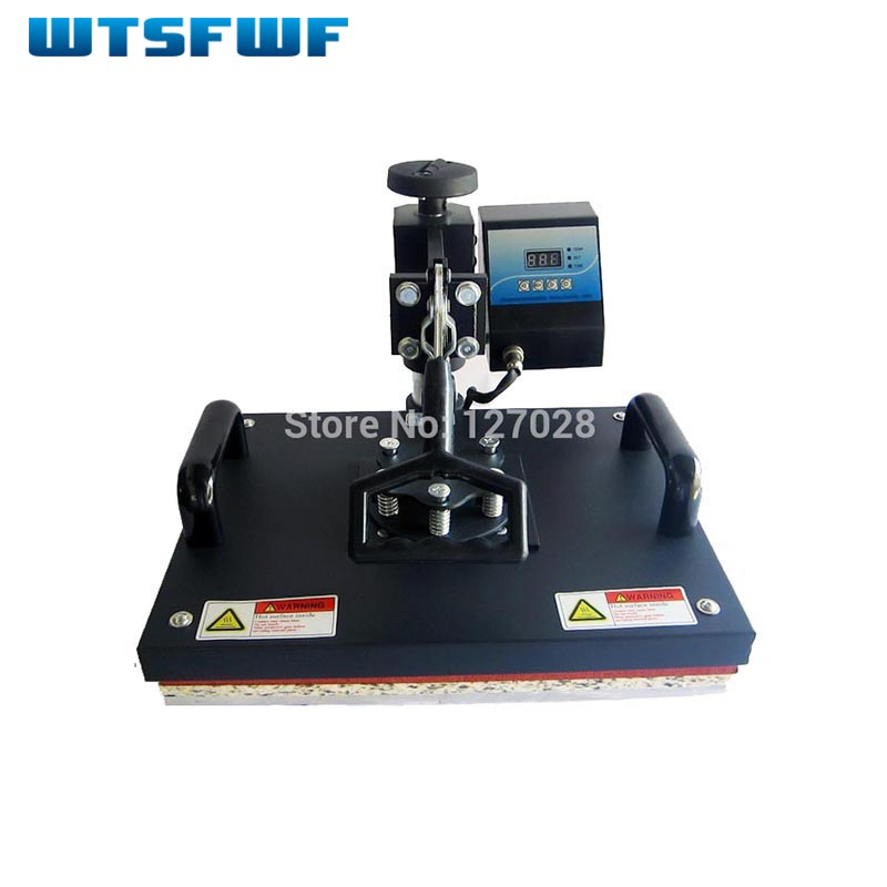 Wtsfwf 30*38CM Swaying Away Heat Press Printer Shaking Head Heat Transfer Printer For Cases Tshirts Mouse Mat cheap manual swing away heat press machine for flatbed print 38 38cm