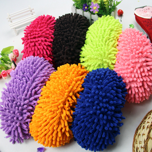 Ultrafine fiber chenille at home grazing slippers lounged slippers socks unpick and wash mop wigs shoe sole