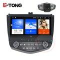 """10.1 """"android 5.1 autoradio player do carro gps estéreo para honda accord 7 2003-2007 navegação gps com câmera controle da roda de direção-"""