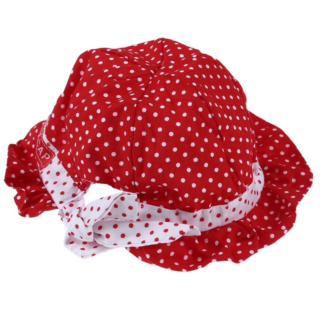MACH New Sweet Cute Baby children Kids so Polka Summer Caps red