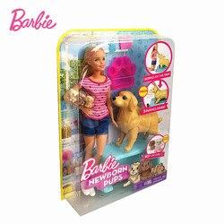Кукла для новорожденных, Оригинальная кукла для щенков, для собак, для питомцев, для новорожденных, игрушки Boneca, модная девушка, подарок на д...