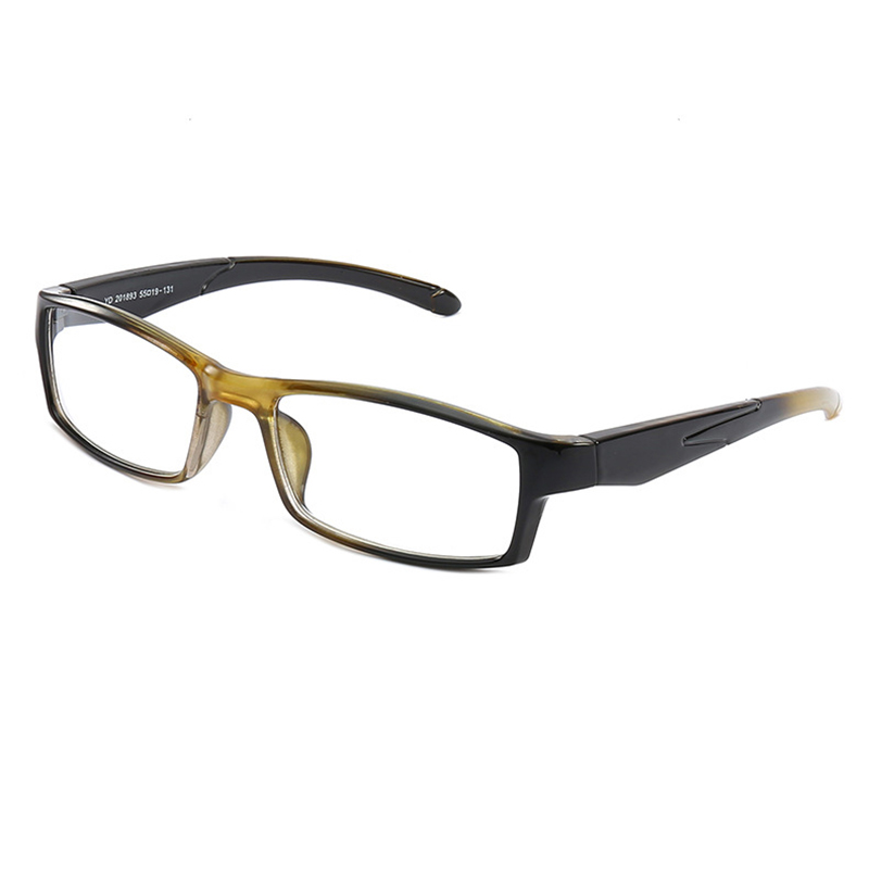 New 2018 Fashion Glasses Magnifier Unisex Reading Glasses For Sight Gradient Color Frame Spectacles With Diopters Width Legs N9