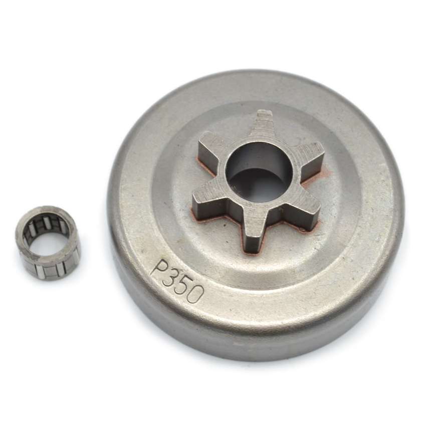 Clutch Drum Assembly Spur Sprocket With Needle Bearing For Partner 350 351 Chainsaw Spare Parts