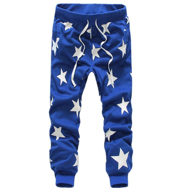 2017 Primavera Outono a moda Das Calças Harém dos homens, masculino casual hip hop suor calças calças sweatpants, Calças corredores