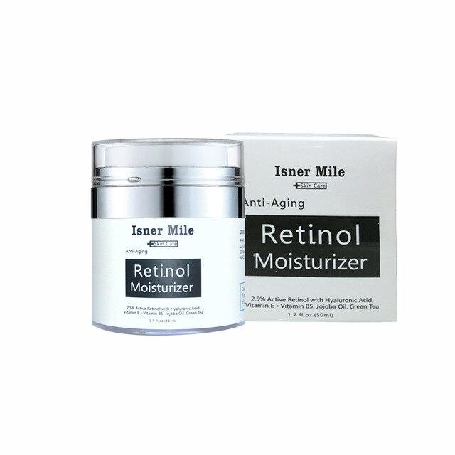 Retinol Moisturizer Cream Retinol Moisturizing Cream Anti-aging Hyaluronic Acid Cream 50g Face Skin Care Cream