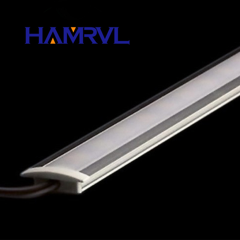 Ny inbäddad remsa 5PCS / Lot 7W 50CM Rigid Strip 5730 LED Bar U Groove Light 72LEDs / M LEDDC 12V 5630 LED-rör Hård LED Strip